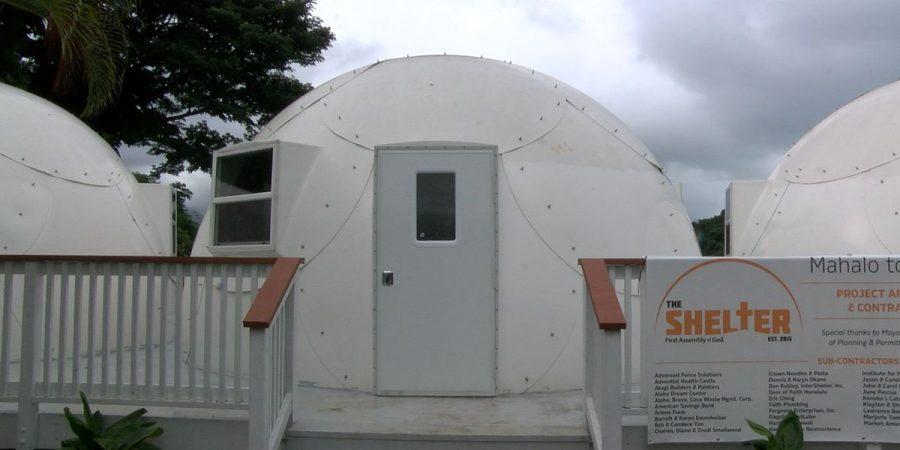 Kaneohe church's igloo-like dome shelters to house homeless families