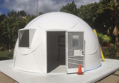 Hawaiian church uses fiberglass 'igloos' to help shelter the homeless
